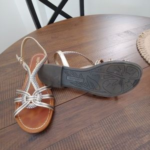 Mult colored sandal